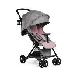 Παιδικό Καρότσι Χρώματος Ροζ KinderKraft Lite Stroller