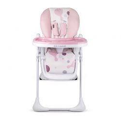 Παιδικό Κάθισμα Φαγητού με Πτυσσόμενη Λειτουργία Χρώματος Ροζ Kinderkraft Yummy
