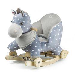 Παιδικό Κουνιστό Αλογάκι με Ρόδες Kinderkraft KKZKONIGRY0000