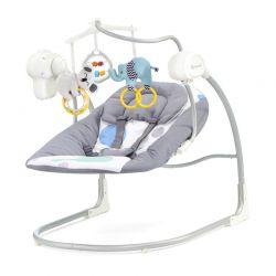 Παιδικό Ρηλάξ - Κούνια 2 σε 1 Χρώματος Mint KinderKraft Minky Swing KKBMINKYMIN0BS