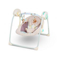 Παιδικό Ρηλάξ - Κούνια 2 σε 1 Χρώματος Πράσινο KinderKraft Easy Swing