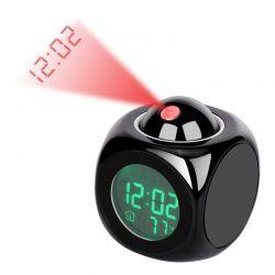 Ψηφιακό Ρολόι - Ξυπνητήρι με Προβολέα και LED Φωτισμό VL1795