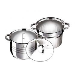 Σετ Μαγειρικών Σκευών Blaumann 3 τμχ από Ανοξείδωτο Ατσάλι Gourmet Line BL-3132