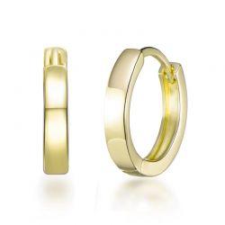 Σκουλαρίκια Κρίκοι Philip Jones 20 mm Χρώματος Χρυσό