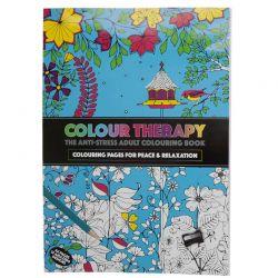Χρωματοθεραπεία Βιβλίο Κατά του Άγχους SPM Anti-Stress Book HC
