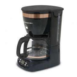 Καφετιέρα Φίλτρου 1.25 Lt Techwood Χρώματος Μαύρο - Χάλκινο TCA-911
