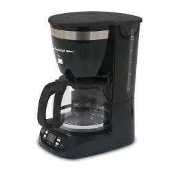 Καφετιέρα Φίλτρου 1.25 Lt Techwood Χρώματος Μαύρο - Ασημί TCA-996