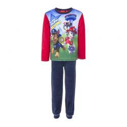 Παιδικές Πυτζάμες Fleece Χρώματος Κόκκινο Paw Patrol Disney HQ2069