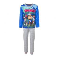Παιδικές Πυτζάμες Fleece Χρώματος Μπλε Paw Patrol Disney HQ2069