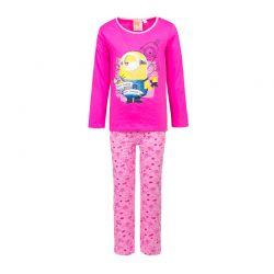 Παιδικές Πυτζάμες Χρώματος Φούξια Minions Disney ph2121