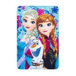Παιδική Κουβέρτα Fleece Μονή 100 x 150 cm Χρώματος Μπλε Frozen Disney HQ4236