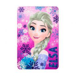 Παιδική Κουβέρτα Fleece Μονή 100 x 150 cm Χρώματος Ροζ Frozen Disney HQ4236
