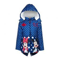 Παιδικό Μπουφάν Χρώματος Μπλε Mickey και Minnie Disney DHQ1074