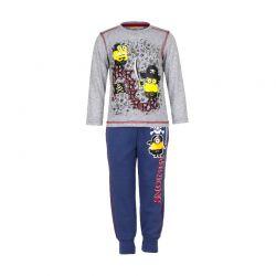 Παιδικό Σετ Φόρμα - Μπλούζα Χρώματος Γκρι Minions Disney EP1035