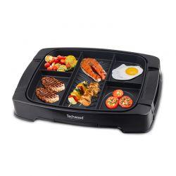 Ψηστιέρα - Γκριλιέρα με 5 Θέσεις Μαγειρέματος 1500 W Techwood TPM-1505