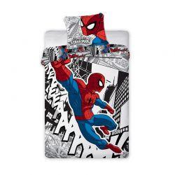 Σετ Μονή Παπλωματοθήκη 2 τμχ 140 x 200 cm Spiderman Disney Spiderman 001