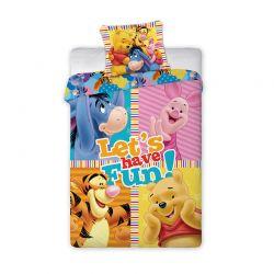 Σετ Μονή Παπλωματοθήκη 2 τμχ 140 x 200 cm Winnie the Pooh Disney Pooh 039