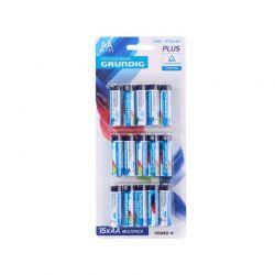 Σετ Μπαταρίες AA R06 Zinc 1.5 V 15 τμχ Grundig 08716