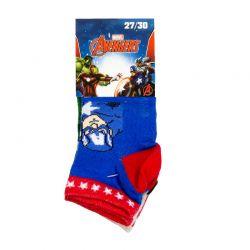 Σετ Παιδικές Κάλτσες 3 Ζευγάρια Pack 1 Avengers Disney QE4726