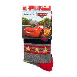 Σετ Παιδικές Κάλτσες 3 Ζευγάρια Pack 2 Cars Disney HQ0727