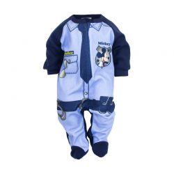 Βρεφικό Φορμάκι Χρώματος Μπλε Mickey Disney NH0349