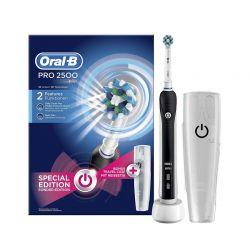 Επαναφορτιζόμενη Ηλεκτρική Οδοντόβουρτσα Oral-B 2500 Special Edition και Θήκη Μεταφοράς