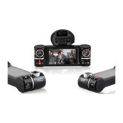 Κάμερα Αυτοκινήτου με Διπλό Φακό 180 ° HD και Αισθητήρα Apachie DASHOZONE