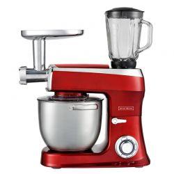 Κουζινομηχανή 3 σε 1 Royalty Line 2100 W Χρώματος Κόκκινο RL-PKM2100BG RED