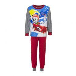 Παιδικές Πυτζάμες Fleece Χρώματος Κόκκινο Paw Patrol Disney DHQ2075