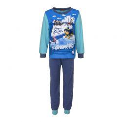 Παιδικές Πυτζάμες Fleece Χρώματος Μπλε Paw Patrol Disney DHQ2075