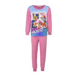 Παιδικές Πυτζάμες Fleece Χρώματος Ροζ Paw Patrol Disney DHQ2105