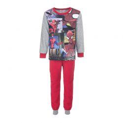 Παιδικές Πυτζάμες Fleece Χρώματος Κόκκινο Spiderman Disney DHQ2158