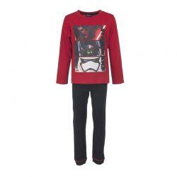 Παιδικές Πυτζάμες Χρώματος Κόκκινο Star Wars Disney HQ2017
