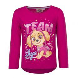Παιδική Μακρυμάνικη Μπλούζα Χρώματος Φούξια Paw Patrol Disney HQ1298