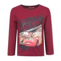 Παιδική Μακρυμάνικη Μπλούζα Χρώματος Κόκκινο Cars Disney HQ1246