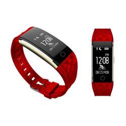 Ρολόι Fitness Tracker Apachie Ango με Μετρητή Καρδιακών Παλμών Χρώματος Κόκκινο ANGOTRKRED