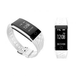Ρολόι Fitness Tracker Apachie Ango με Μετρητή Καρδιακών Παλμών Χρώματος Λευκό ANGOTRKWHT