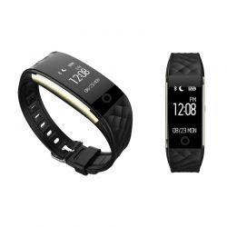 Ρολόι Fitness Tracker Apachie Ango με Μετρητή Καρδιακών Παλμών Χρώματος Μαύρο ANGOTRKBLK