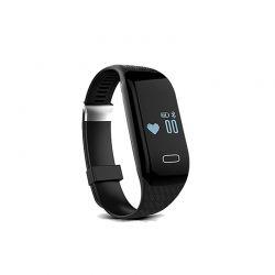 Ρολόι Fitness Tracker Apachie H3 Bluetooth Sports με Μετρητή Καρδιακών Παλμών Χρώματος Carbon H3TRKCAR