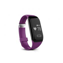 Ρολόι Fitness Tracker Apachie H3 Bluetooth Sports με Μετρητή Καρδιακών Παλμών Χρώματος Μωβ H3TRKPUR