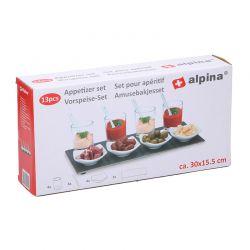 Σετ Σερβιρίσματος για Απεριτίφ 13 τμχ Alpina Switzerland 02245