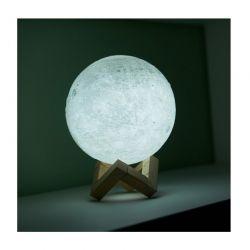Επαναφορτιζόμενο Φωτιστικό Αφής Φεγγάρι 3D με LED GloBrite VL3093