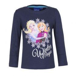 Παιδική Μακρυμάνικη Μπλούζα Χρώματος Navy Frozen Disney HO1382