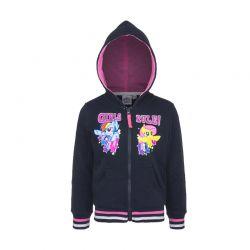 Παιδική Ζακέτα Φούτερ με Κουκούλα Χρώματος Navy My Little Pony Disney AHQ1338