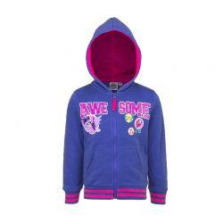 Παιδική Ζακέτα Φούτερ με Κουκούλα Χρώματος Μπλε My Little Pony Disney AHQ1338