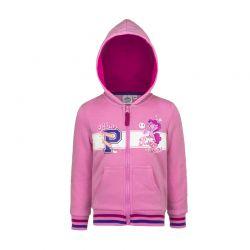Παιδική Ζακέτα Φούτερ με Κουκούλα Χρώματος Ροζ My Little Pony Disney AHQ1338