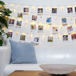 Σετ Φωτεινά Μανταλάκια με Λευκό Θερμό Φωτισμό LED GloBrite 10 τμχ LEDPegFairy10