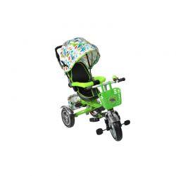 Τρίκυκλο Παιδικό Ποδήλατο - Καρότσι 3 σε 1 Kruzzel Χρώματος Πράσινο