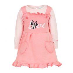 Βρεφικό Σετ 2 Τμχ Χρώματος Ροζ Minnie Disney AHQ0220