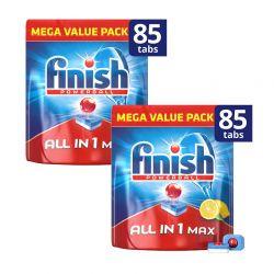 Απορρυπαντικό Πλυντηρίου Πιάτων Finish All In 1 Max Λεμόνι 170 Ταμπλέτες Finish-Tabs-LMN85-2